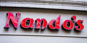 Nando's restaurant sign
