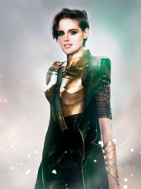 These gender-swapped Avengers pictures are perfect