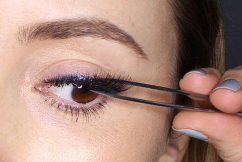 3e1392a56ad How to apply false eyelashes: expert fake eyelash application tips