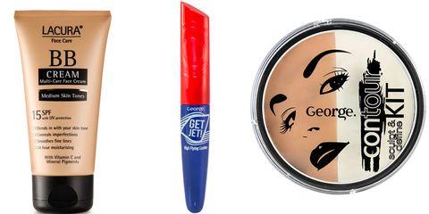 Supermarket makeup