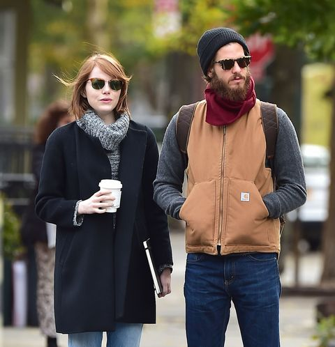 Emma Stone and Andrew Garfield in West Hollywood