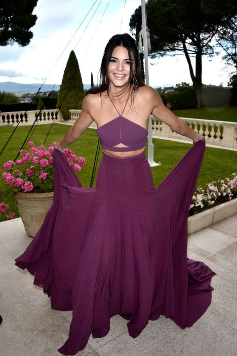 Kendall Jenner at the 2015 amfAR Gala