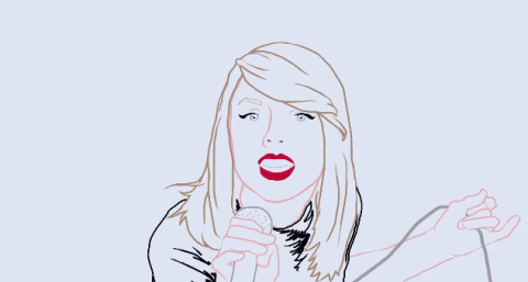 students from the University of Newcastle created an animated version of Taylor Swift's music video for 'Shake It Off'