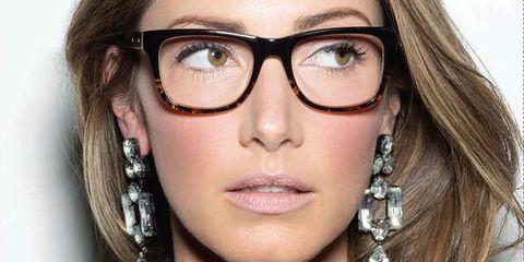 1fcaa9958af Bobbi Brown s makeup tips for glasses wearers