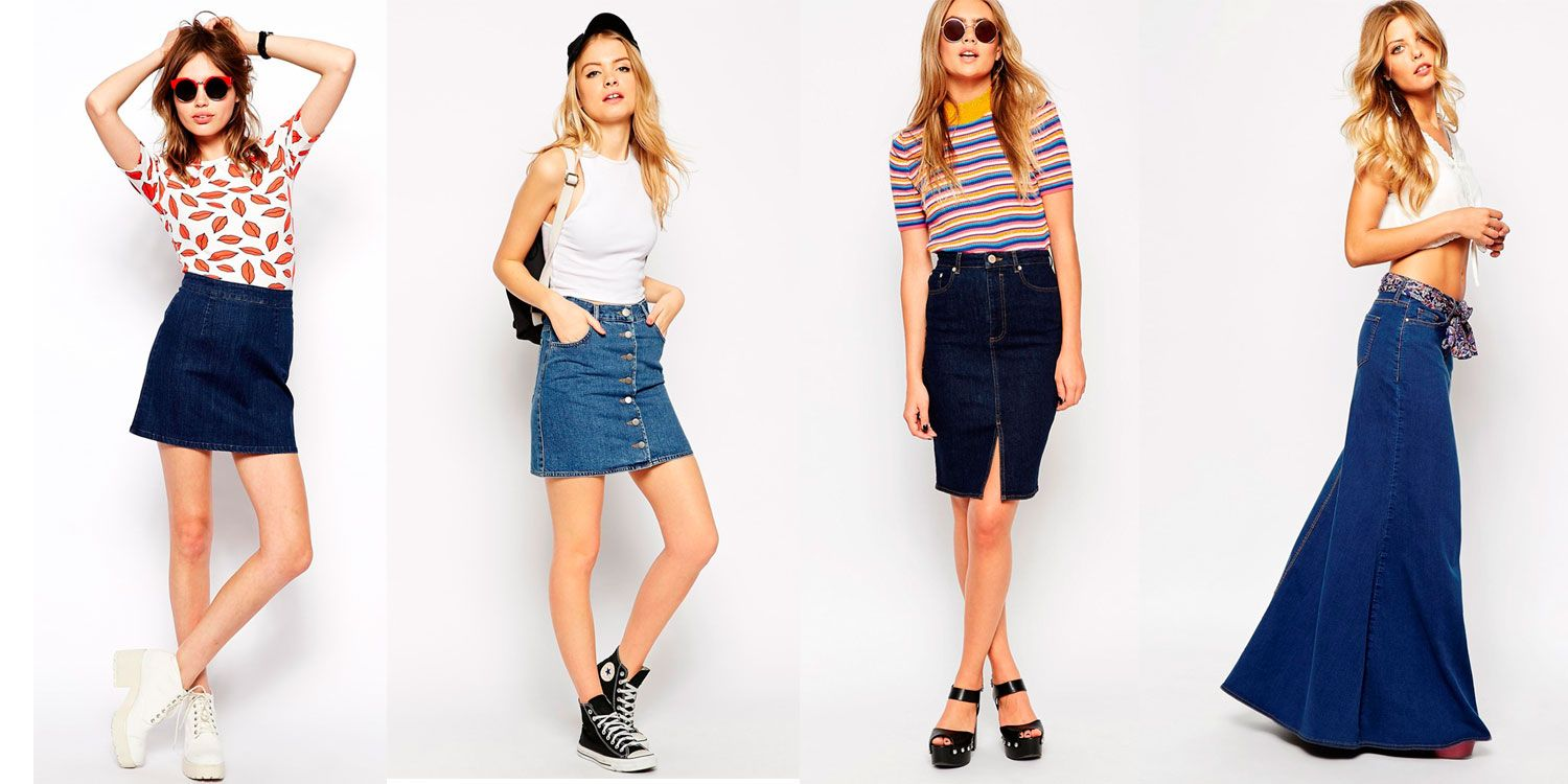 The best denim skirts for curvy figures
