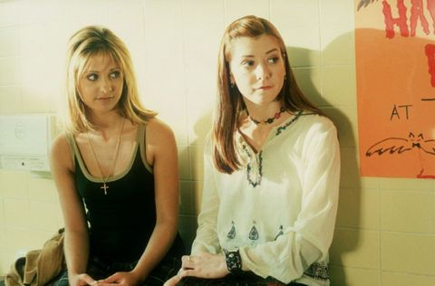 Buffy and Willow Buffy the Vampire Slayer