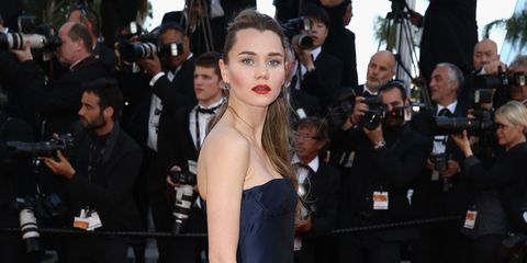 Immy Waterhouse at the Cannes Film Festival 2015