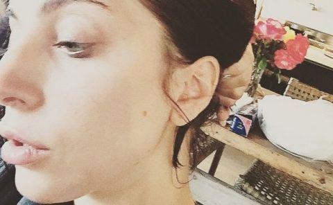 Lady Gaga reveals her unique lip plumping technique