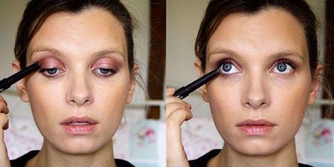 Lip, Cheek, Brown, Skin, Eyelash, Eye, Chin, Forehead, Eyebrow, Eye shadow,