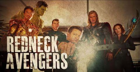 Redneck Avengers bad lip reading