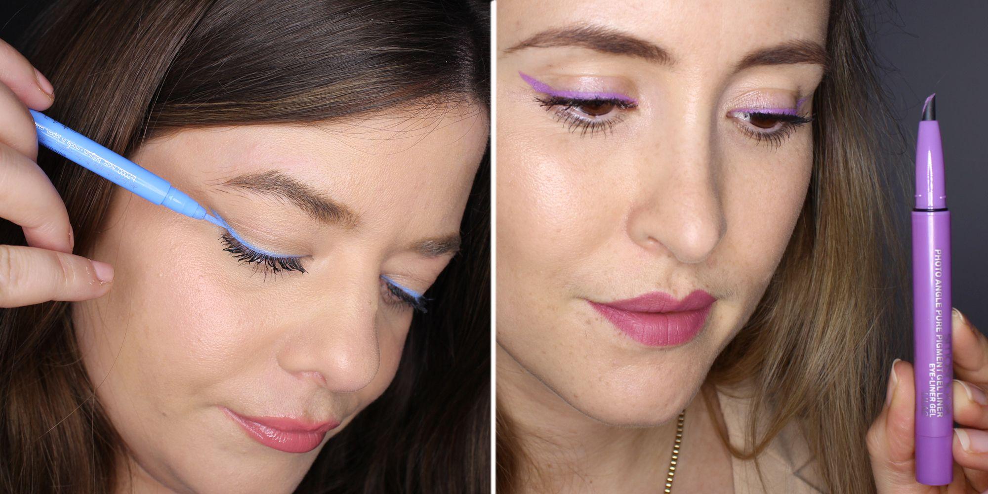 The Best Coloured Eyeliners For Springsummer