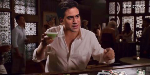 Someone has put Ed Miliband in Forgetting Sarah Marshall