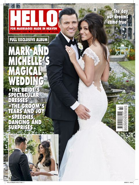 Michelle Keegan S Wedding Dress Photo