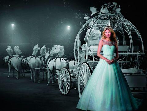 Disney Wedding Dress Collection 2015 featuring Elsa from Frozen