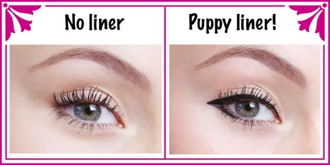Perfect 'puppy eyes' in 6 simple steps