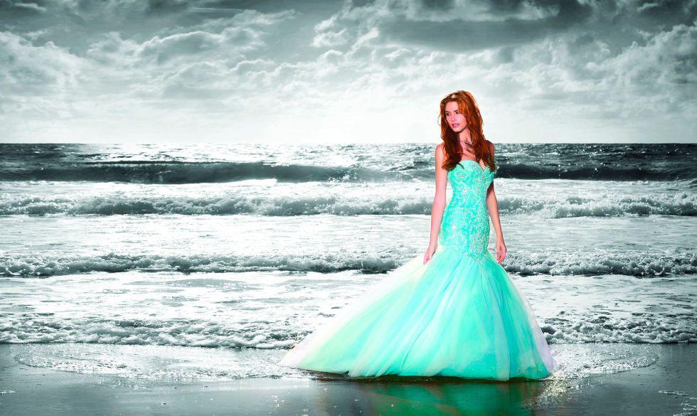 Ariel Disney Wedding-Themed Dresses