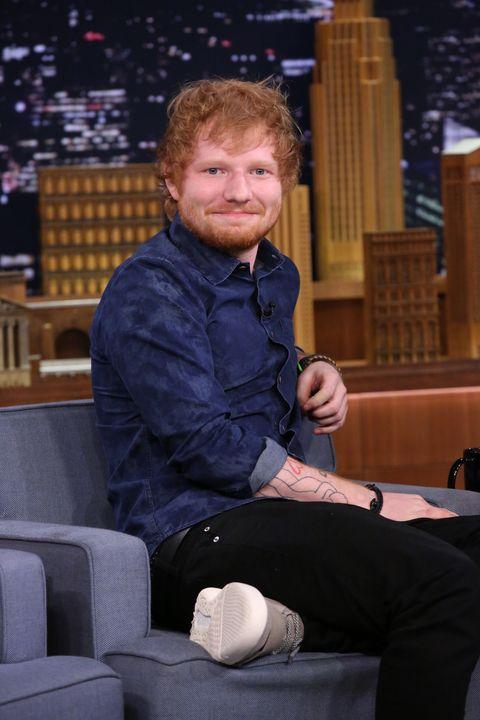 Ed Sheeran on the Tonight Show starring Jimmy Fallon