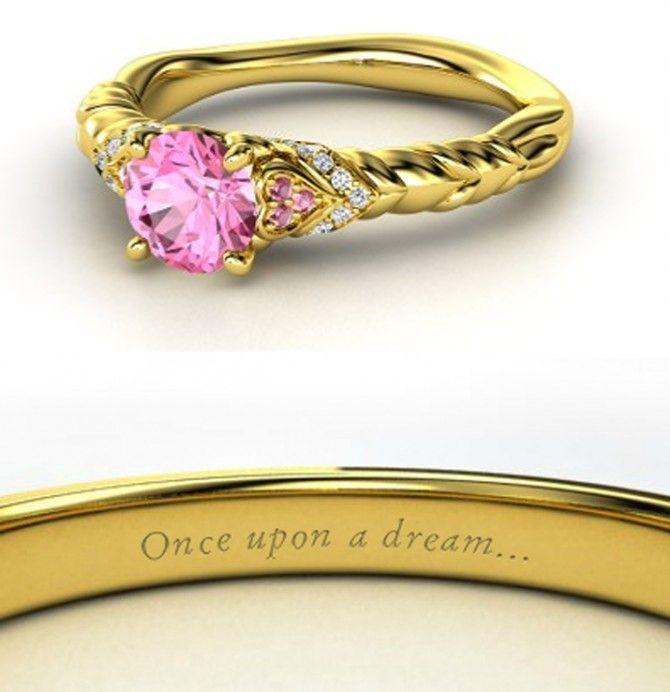 disney engagement rings in photos - Princess Wedding Ring