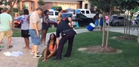 Police officer suspended for pulling gun on teenager