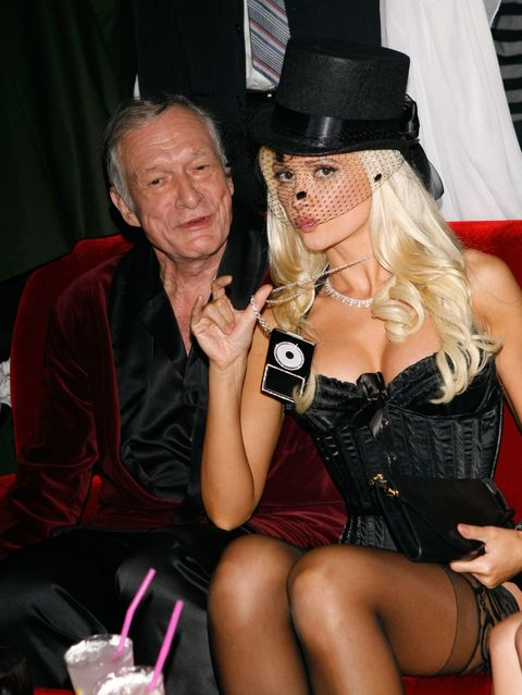 Holly Madison claims Hugh Heffner offered her horse tranquilisers