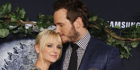 Chris Pratt and Anna Faris were all our relationship goals at the Jurassic World premiere