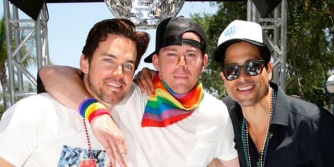 Channing Tatum and the Magic Mike XXL cast twerked like pros at LA's Gay Pride