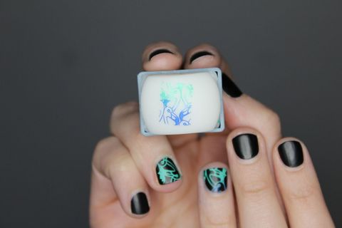 How To Do Nail Stamping Nail Art