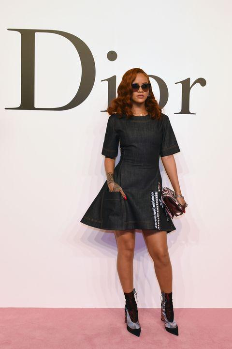 Rihanna at the Dior Tokyo show