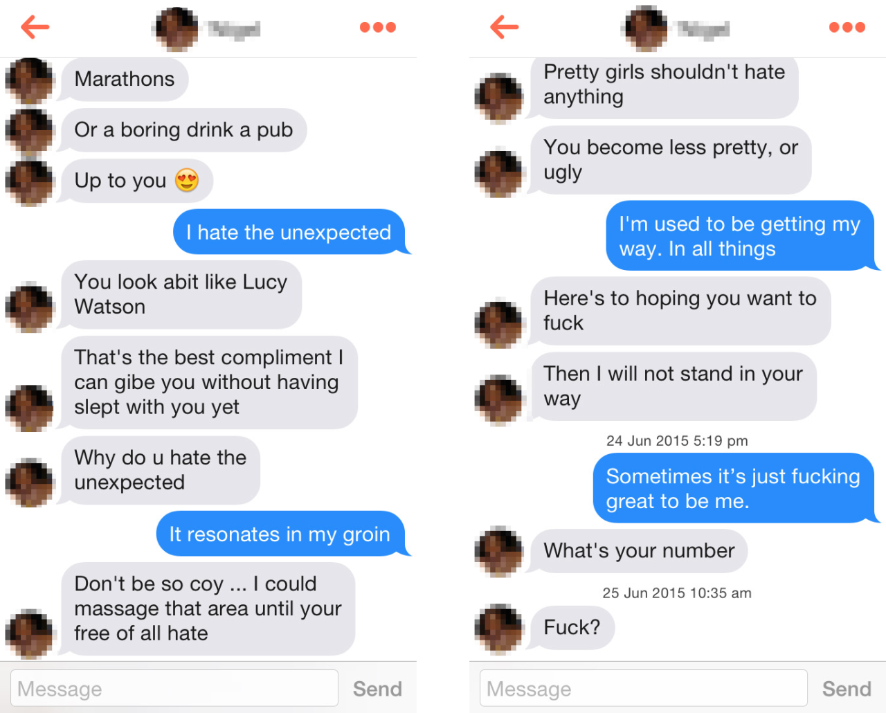 Guys on tinder don t message