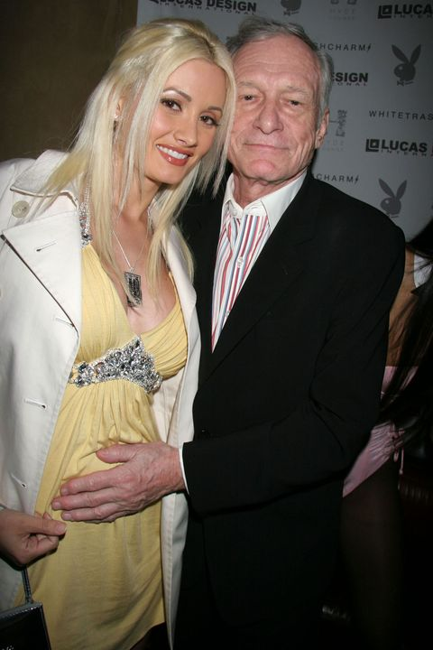 Former Playgirl Holly Madison Reveals She And Hugh Hefner Never Had Sex Alone In The -6469