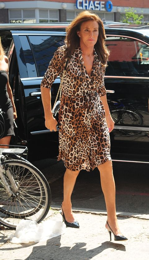 Caitlyn Jenner wears two incredible outfits in one glorious day