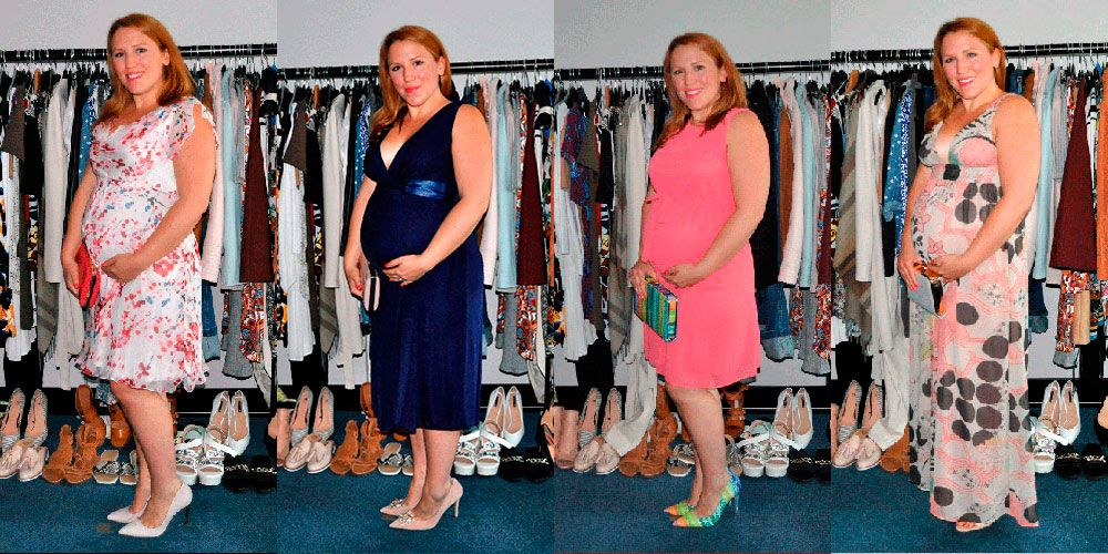 what to wear to a wedding while pregnant
