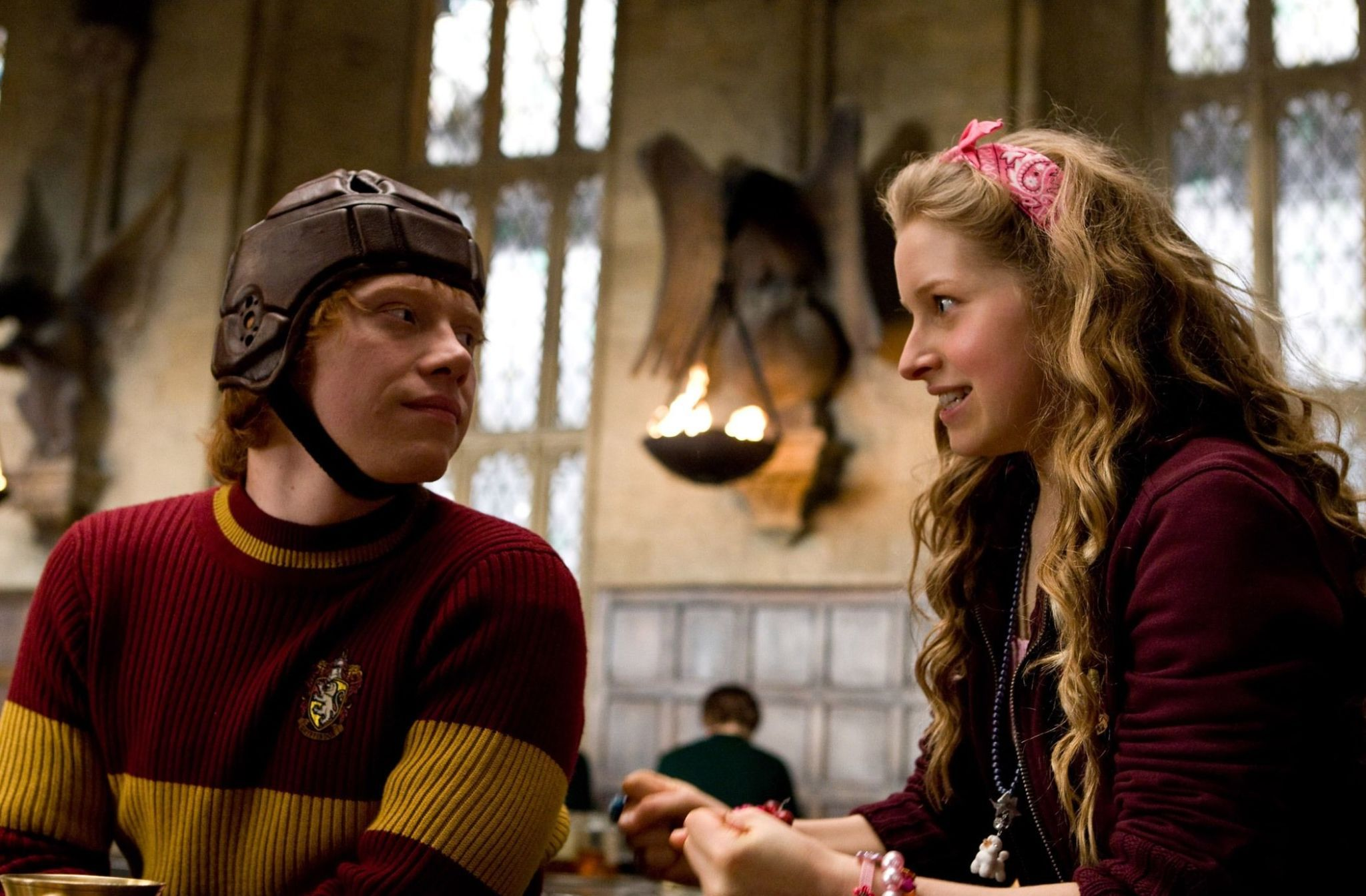 When does ron start dating lavender