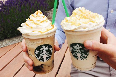 Starbucks Launch The Caramel Coffee Jelly Frappuccino And Lemon Vanilla Frappuccino