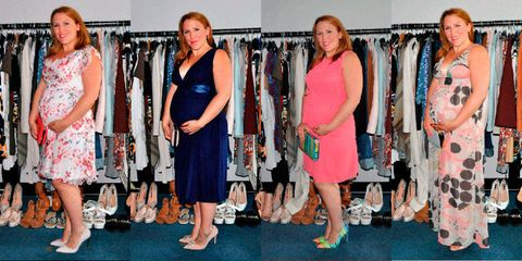 6554c9318a1 What to wear to a wedding when you re pregnant