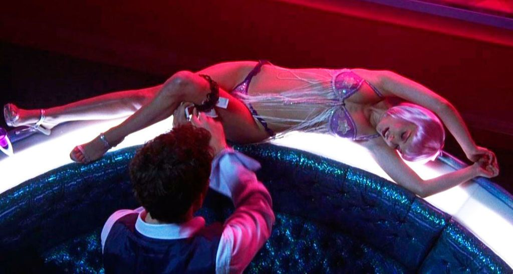 Stripper gives blowjob in private room prostitute movies-643