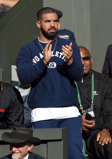 Drake doesn't understand clapping at Wimbledon 2015