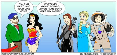 Rebecca Cohen feminist cartoon women in films