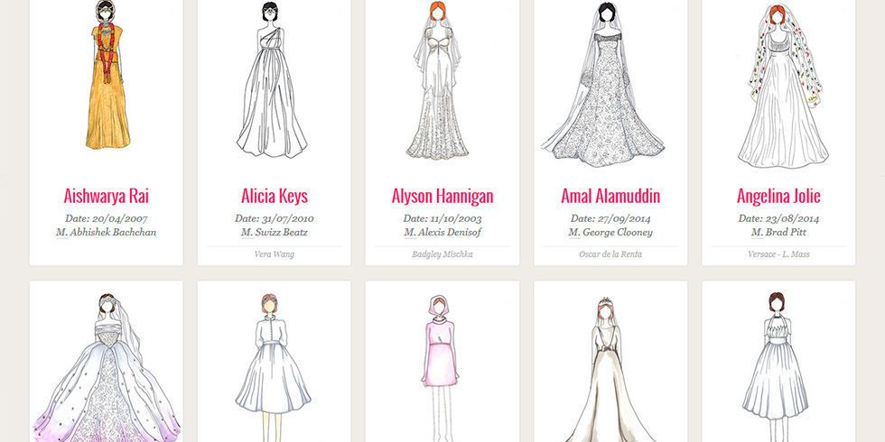Are these the most iconic wedding dresses of all time?