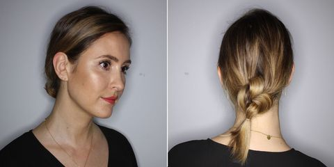 Summer hair tutorial: The knotted ponytail