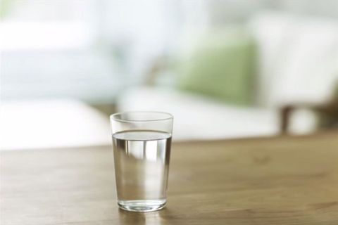 this is what really happens to that glass of water you leave by your