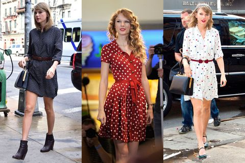 Definitive Proof Taylor Swift Only Ever Wears The Same 10 Outfits