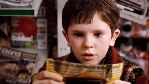 Charlie Bucket from Charlie and the Chocolate Factory is actually kind of hot now