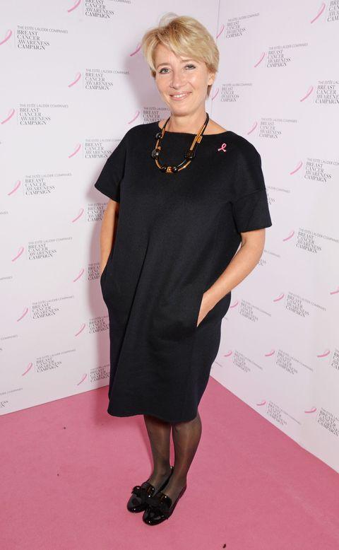 Emma Thompson at an Estee Lauder event