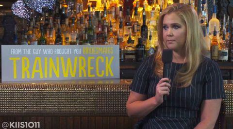 Amy Schumer just shut down this sexist interviewer in the