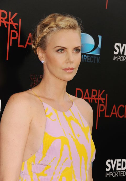Charlize Theron at the Dark Places premiere
