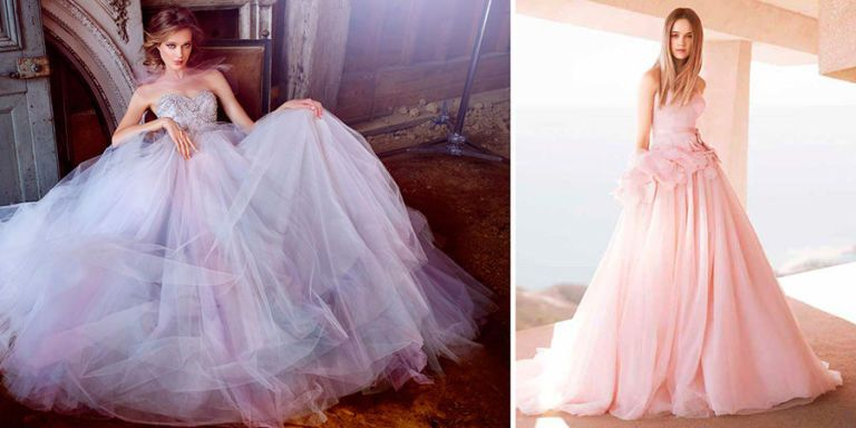 20 colourful wedding dresses to make you forget about wearing white brave brides gather round these 20 wedding dresses are bright bold and beautiful and not a single one is white junglespirit Image collections
