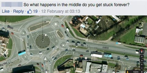 This roundabout in Swindon has got America freaking the hell out