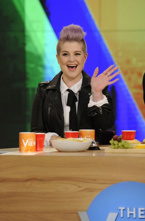 Kelly Osbourne guest hosting The View