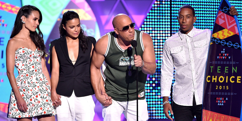 Vin Diesels Paul Walker Tribute At The Teen Choice Awards Was